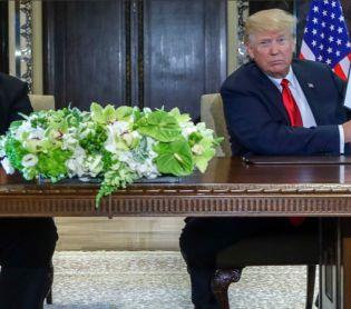 """חדשות בעולם, מבזקים ארה""""ב הודיעה: טראמפ וקים ג'ונג און ייפגשו בחודש הבא"""