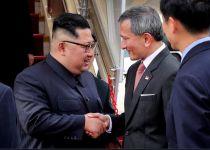 בדרך להיסטוריה: מנהיג צפון קוריאה נחת בסינגפור