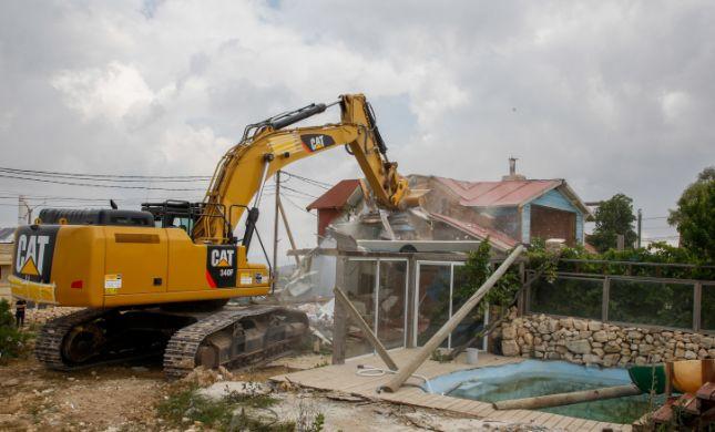 כלא היו • תיעוד: הרס הבתים בנתיב האבות