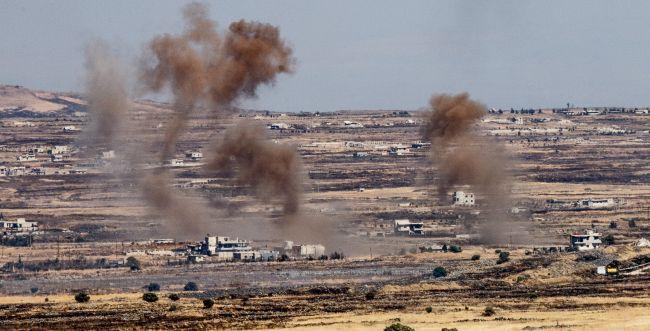 סוריה פתחה במתקפה סמוך לגבול עם ישראל