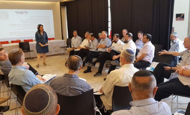 """מפגש בין מנהלי חינוך לנציגי יהדות ארה""""ב"""
