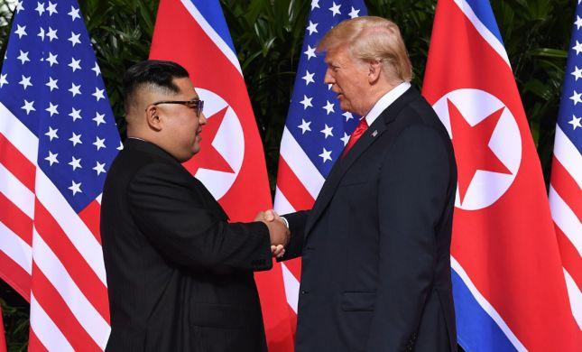 """קים ג'ונג און: """"מעריך את הנחישות של טראמפ"""""""