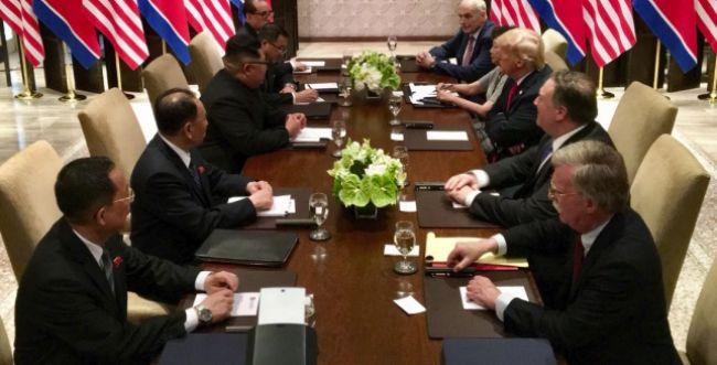 בלי קינוח בנעל: מה טראמפ וקים אכלו יחד?