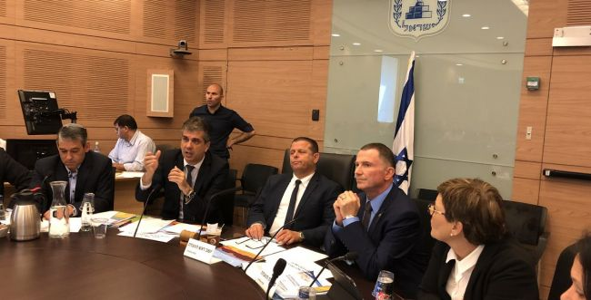 אדלשטיין בא לפקח: השרים הציגו תכניות עבודה