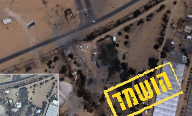 """תיעוד: התקיפה הנרחבת של צה""""ל ברצועת עזה"""