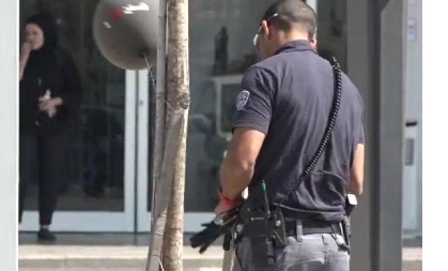 תיעוד: נטרול בלון נפץ בלב העיר שדרות. צפו