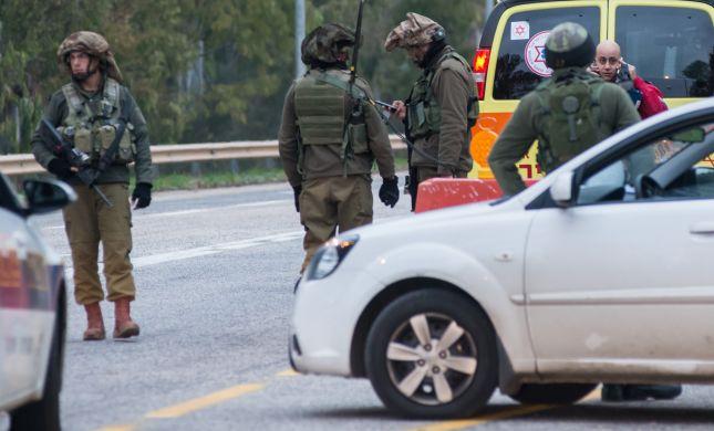 שומרון: מחבל השליך מטען בצומת ג'ית לעבר צעיר