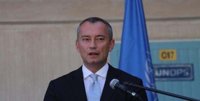 """שליח האו""""ם מלדנוב: """"סיכוי מוחשי להסלמה בעזה"""""""