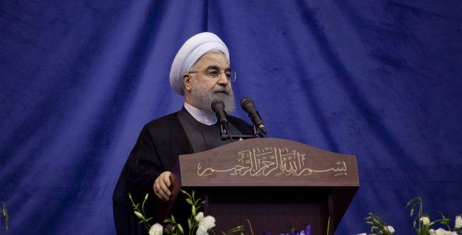"""רוחאני: """"איראן תמשיך להרחיב את תכנית הטילים"""""""