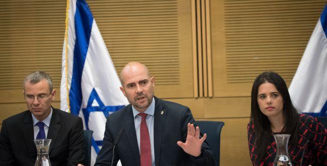 """דיון סוער על """"חוק הלאום"""" בכנסת: כניסה רק ליהודים?"""
