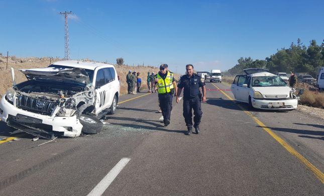 משפחה נפצעה בתאונת דרכים בגולן: 2 ילדים קשה