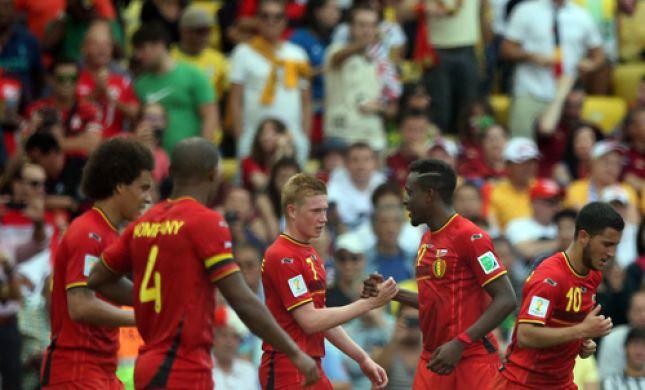 בתום דרמה: בלגיה מחקה פיגור של שני שערים ועלתה