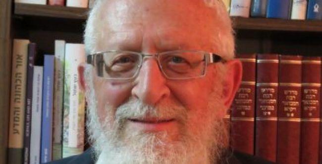 מאמרו האחרון של הרב ישראל רוזן