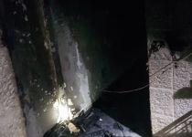 פצועים קשה משריפה בירושלים: נעצר חשוד בהצתה