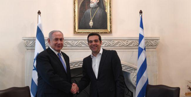 """נתניהו לראש ממשלת יוון: """"ישראל מתאבלת איתכם"""""""