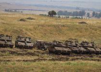 """צה""""ל מעלה שיריון וארטילריה לרמת הגולן"""