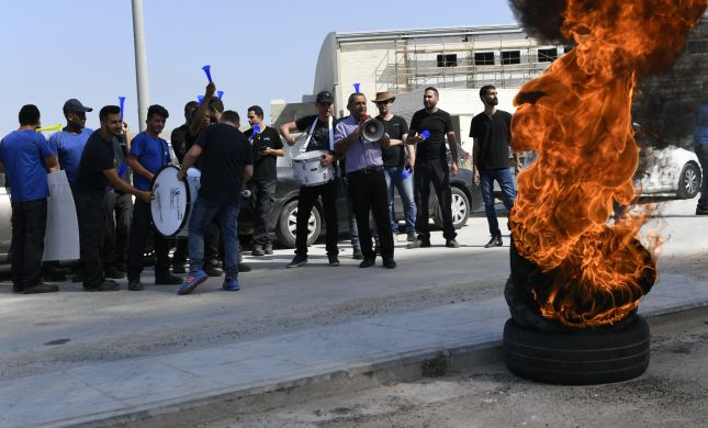 עימותים בחברת Yes: מחאות וצמיגים בוערים