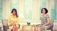 אופנה וסטייל, סרוגות זורחת: מלניה מאמצת את הטרנד הכי נכון כרגע