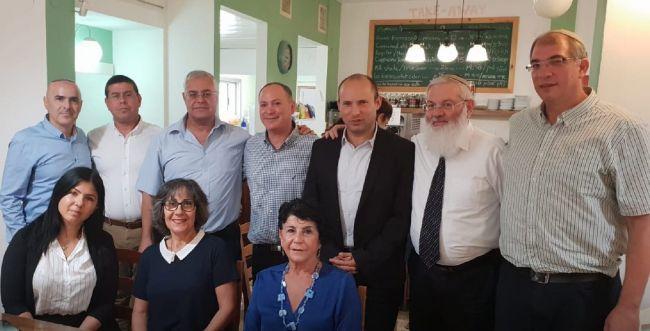 נחתם הסכם בין הבית היהודי והליכוד בבית שאן