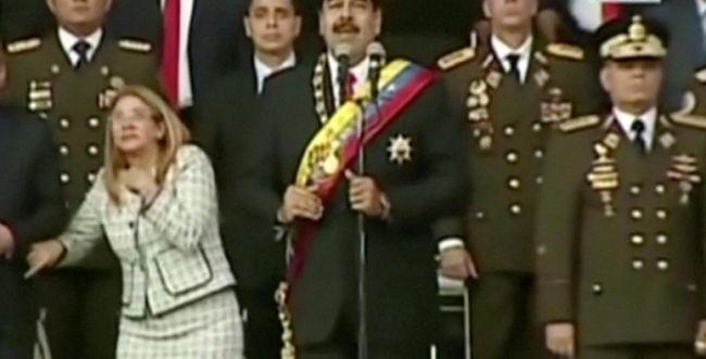 בשידור חי: נסיון התנקשות בנשיא ונצואלה. צפו