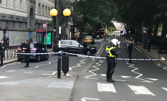בריטניה: שני פצועים באירוע דריסה ליד הפרלמנט