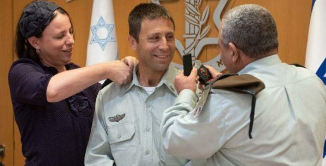 הקצין הסרוג אבי בלוט הועלה לדרגת תת- אלוף
