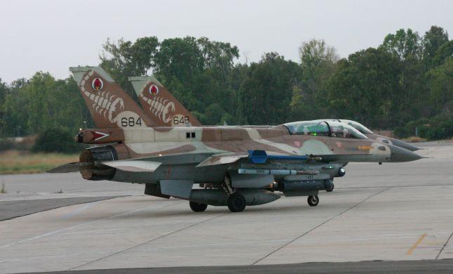 אירוע חמור: כנפי שני מטוסי קרב התנגשו בטיסת אימונים