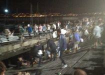 ספרד: מאות פצועים לאחר קריסת רציף בפסטיבל