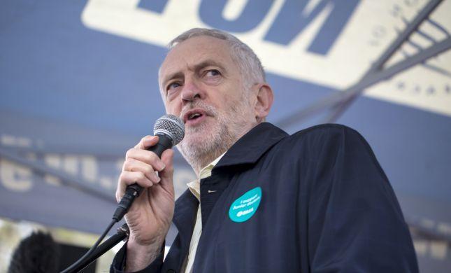 """טענה בבריטניה: """"קורבין מפחית ענישה לאנטישמיות"""""""