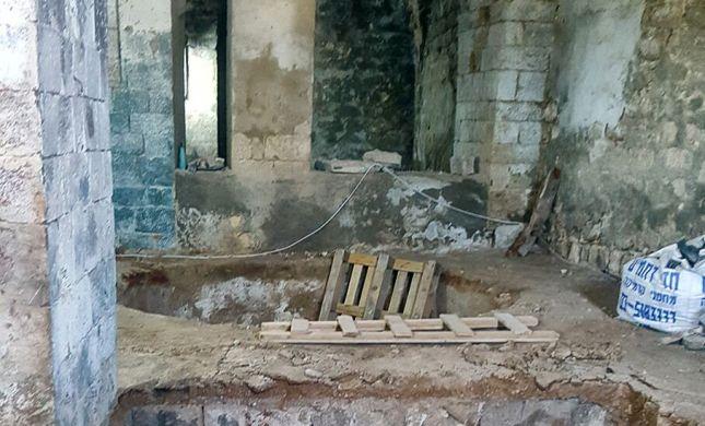מרהיב: מסבנה מהתקופה העות'מאנית נחשפה ביפו