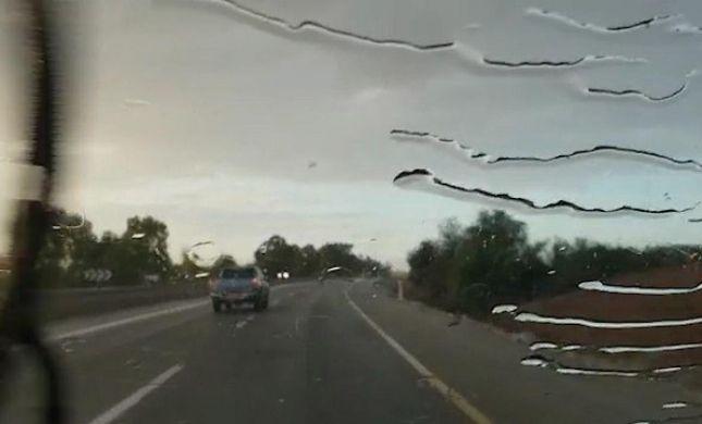'אחת לכמה שנים': צפו:גשם ירד הבוקר בנגב המערבי