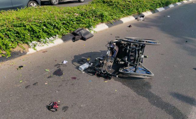 'הכסא היה מפורק': נכה בכיסא גלגלים נהרג בתאונה
