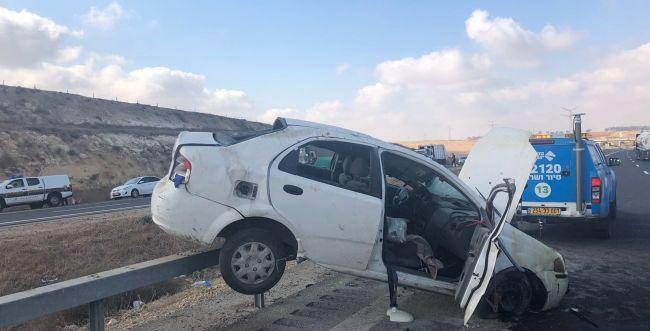 """""""הרכב היה מעוך"""": צעירה נהרגה בתאונה בכביש 6"""