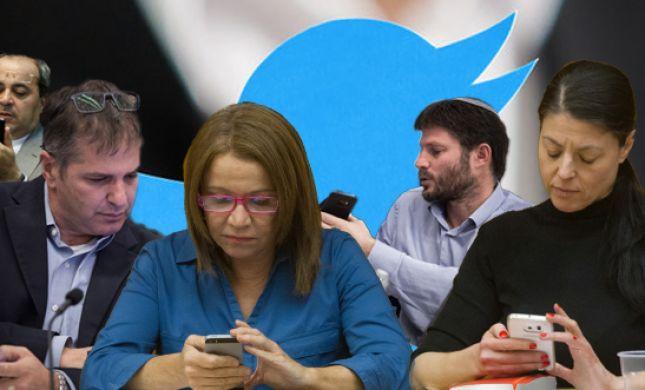 סרוגים עוקב: הטוויטר של הפוליטיקאים