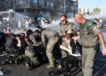 """בזמן מחאת החרדים: כתב גלי צה""""ל הותקף באלימות"""