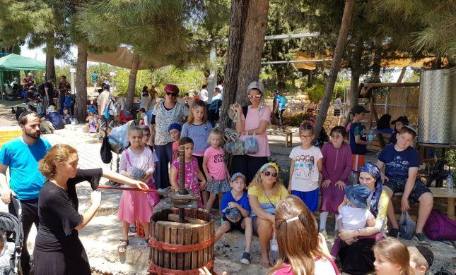 פסטיבל הבציר בגוש עציון במחווה לתושבי הדרום