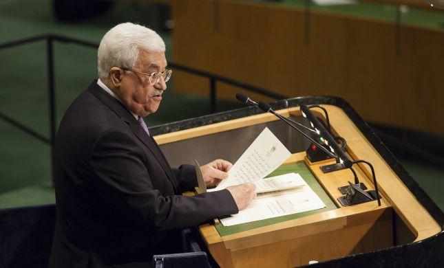 """אבו מאזן תוקף באו""""ם: """"הסכמתי למו""""מ עם נתניהו"""""""