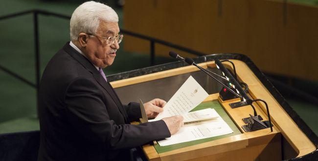 """אבו מאזן באו""""ם: """"מציעים לנו גבינה שוויצרית כמדינה"""""""