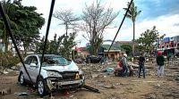 חדשות בעולם, מבזקים שוב: רעידת אדמה בעוצמה 7.3 הורגשה באינדונזיה