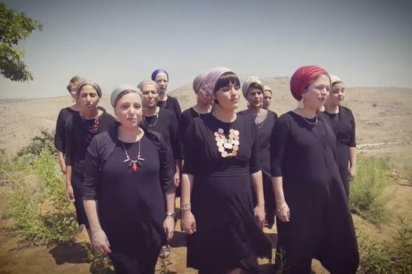צפו: נשות השומרון בקאבר מרגש לכבוד השנה החדשה