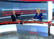 צפו: אהוד ברק השתולל ופוצץ ראיון בשידור חי