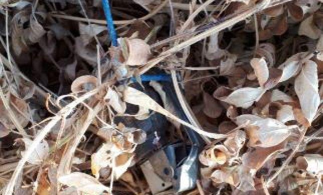 תיעוד: רימון מחובר לבלון אותר בעוטף עזה