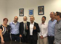 גם בנשר: בבית היהודי חתמו על ריצה משותפת בעיר