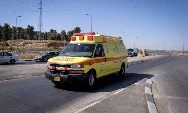 תאונה קשה בצומת תקוע: 4 פצועים; מסוק הוזנק למקום