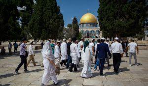 חדשות המגזר, חדשות קורה עכשיו במגזר, מבזקים צפו: יהודים בקיטל עולים להר הבית ביום כיפור