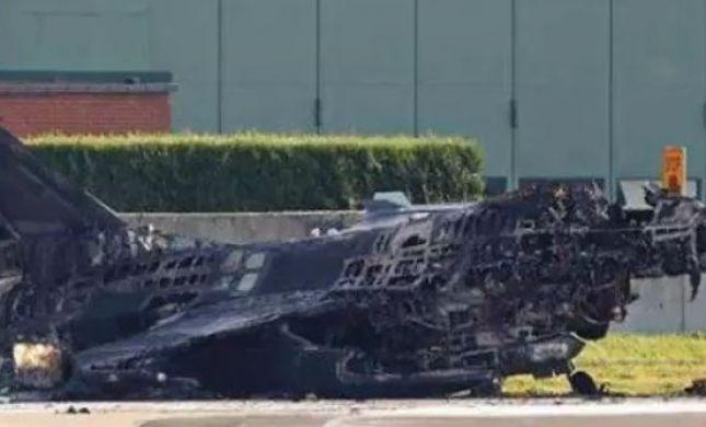 אופס: מכונאי ירה בטעות על מטוס קרב והשמיד אותו
