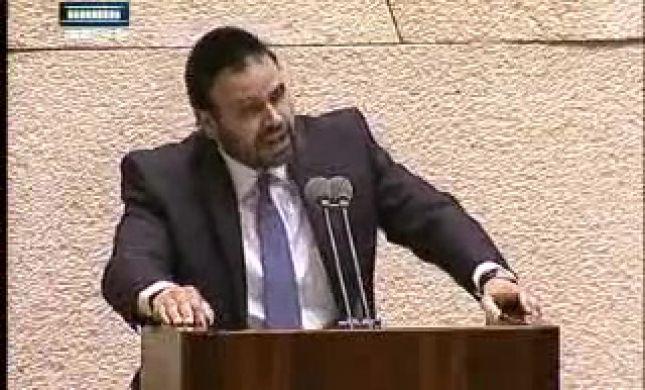 """עימות במליאת הכנסת: """"דם יהודי אינו הפקר"""" • צפו"""
