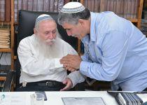 הרב דרוקמן קרא: לבחור באליהו זהר לקדנציה שנייה
