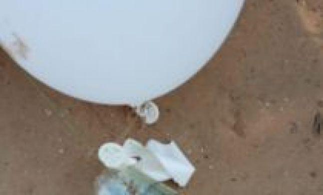 שוב: מתקפת בלוני תבערה על עוטף עזה. תיעוד