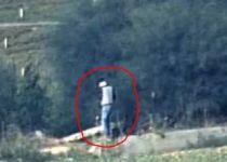 צפו: רגע לפני השיגור; כלי טיס משמיד את המחבלים